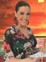 Raquel Sanchez Silva luce pendientes de plumas Wild Summer