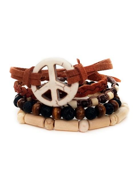 Oh!Este Handmade Accessories. Pack de pulseras WILD SUMMER