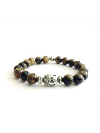 Oh!Este Handmade Accessories. Pulsera energética Buddha Stone
