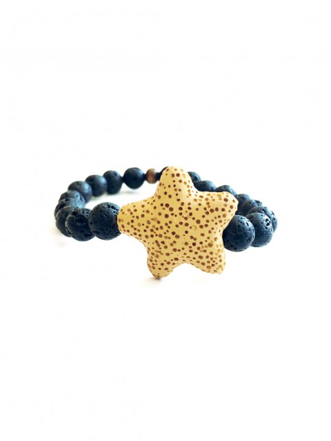 Oh!Este Handmade Accessories Lava Star Sunset