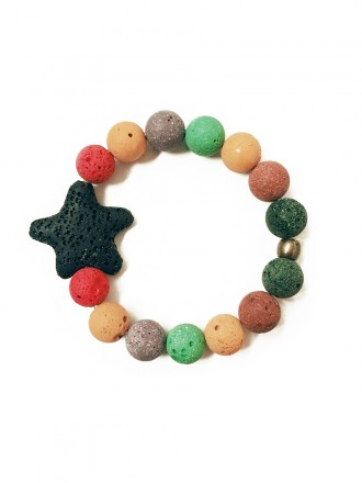 Oh!Este Handmade Accessories, colección Indian Summer, pulsera Star Colors