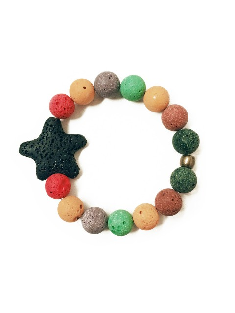 Oh!Este Handmade Accessories, colección Indian Summer, pulsera Star Colors