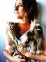 Oh!Este Handmade Accesories, collar de cuero y flecos, diseño exclusivo