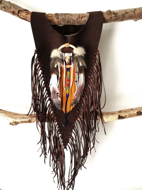 Oh!Este Handmade Accessories. Colección Indian Summer Peto Navajo