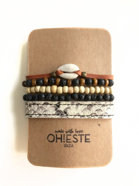 Oh!ESte made with love. Pack de pulseras EsVedrá
