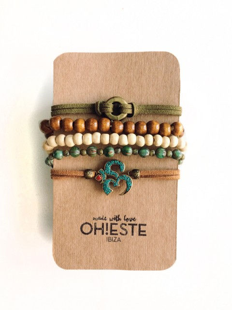 Oh!Este made with love. Pack de pulseras Ibiza