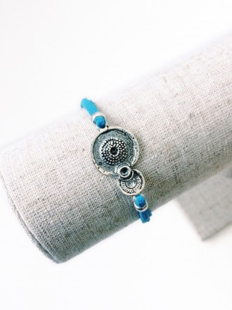 Oh!Este made with love. Pulsera Blue Dharma